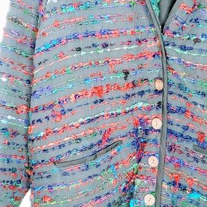 The Territory Ahead Jackets & Coats - The Territory Ahead Silk Button Jacket